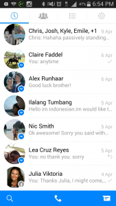 Calling people with Facebook Messenger