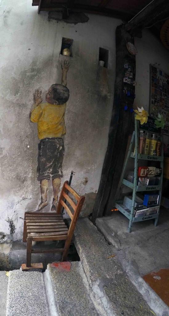 Street art of the street life