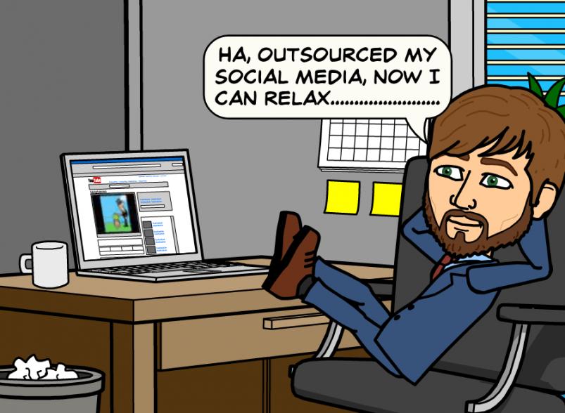 outsourcing-Facebookbook