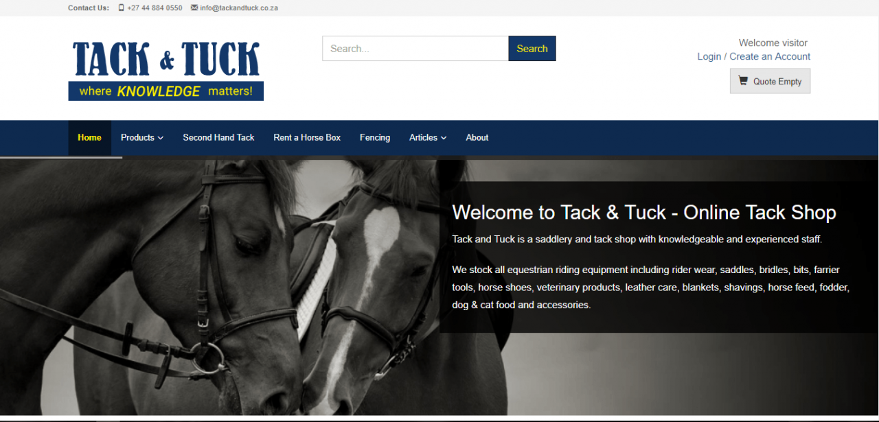 Tack and tuck